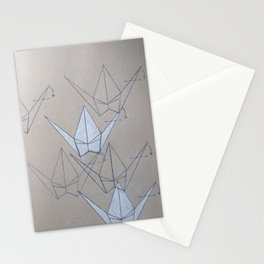 Peace Crane Flock Stationery Cards
