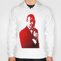 james bond Hoodies featuring James Bond - Red or Dead by D77 The DigArtisT