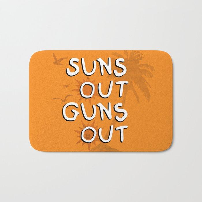 Suns Out Bath Mat