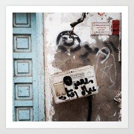 Jeddah Suq Art Print