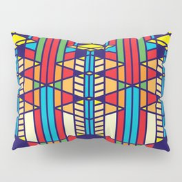 Frank Lloyd Wright Pattern One Pillow Sham