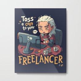 Freelancer of Blaviken Metal Print