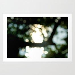 Tree // Bokeh Art Print