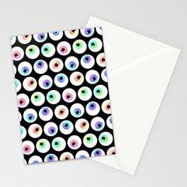 Lovely Sparkly Rainbow Eyeballs Stationery Cards