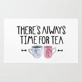 Always Time For Tea! Rug