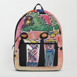 Roller Derby Girls Backpack