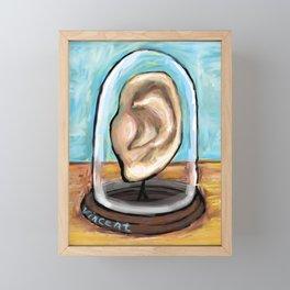 Vincent Van Gogh's Ear Framed Mini Art Print