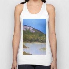 Mountain Lake I Unisex Tank Top
