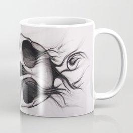Skull; Drawing Coffee Mug