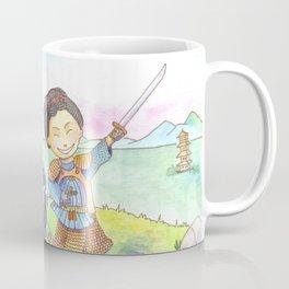 Two samurais on the hill Coffee Mug