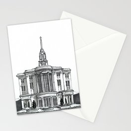 Payson Utah Temple Stationery Cards