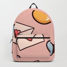 Sweet love seamless pattern Backpack