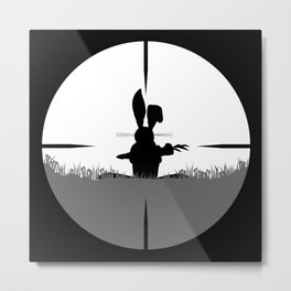 Cross Hair Metal Print