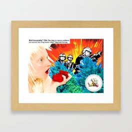 Medicated Framed Art Print