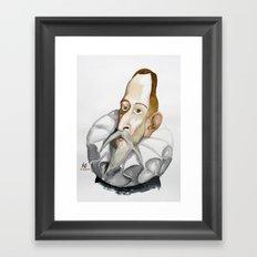 Cervantes Framed Art Print