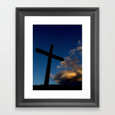 Dawn of faith Framed Art Print