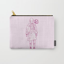 ~Eleven in pink. Stranger Things things~ Carry-All Pouch