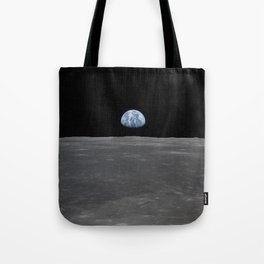 see the marble from the moon | space #05 Tote Bag
