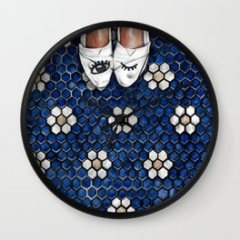 Art Beneath Our Feet Project - Grand Rapids Wall Clock