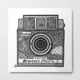 Kodak: Brownie Fiesta 3 Metal Print