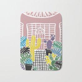 Cacti & Succulent Greenhouse Bath Mat
