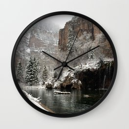 Hanging Lake, White River National Forest CO Wall Clock