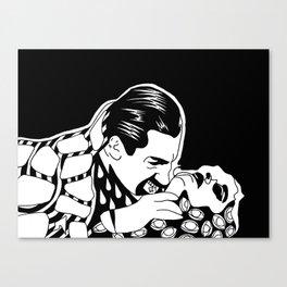 acid dracula Canvas Print