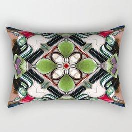 Cars In A Kaleidoscope Rectangular Pillow