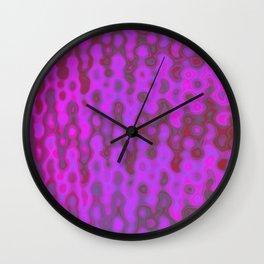 Mushroom Coral Pink - Coral Reef Series 034 Wall Clock