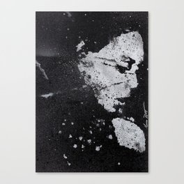 Perfect Pitch Black Canvas Print