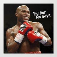 floyd Canvas Prints featuring Floyd #1 by YBYG