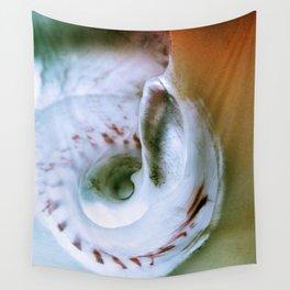 Sea Snail Portrait Wall Tapestry