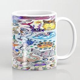 Airplane Doodle Coffee Mug