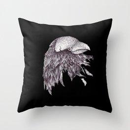 Broken Bird Throw Pillow