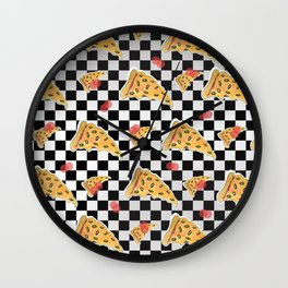 Pizza my Mind Wall Clock