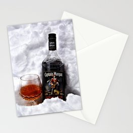 Ice Cold Captain Morgan Rum Stationery Cards
