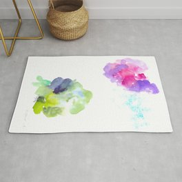 180802 Beautiful Rejection  10| Colorful Abstract Rug