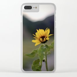 FLOWER OF SUN Clear iPhone Case