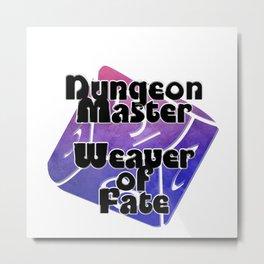 Dungeon Master  Weaver of Fate Metal Print