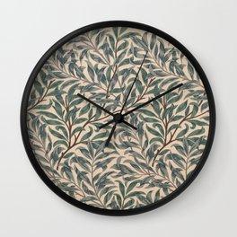 Modern poster-William Morris-Vegetable print 5. Wall Clock