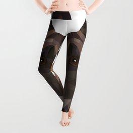 Belgian Malinois   Low-poly Art Leggings