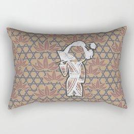 The Third Beautiful Geisha Rectangular Pillow