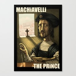 Machiavelli's The Prince Canvas Print