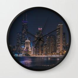 North Avenue Beach II Wall Clock