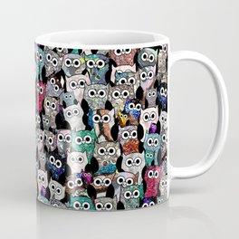 Gemstone Owls Coffee Mug