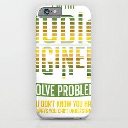 Audio Engineer Gift Sound Engineer Shirt iPhone Case