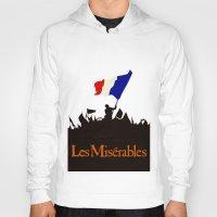 les miserables Hoodies featuring Les Miserables by TheWonderlander