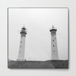 Lighthouses Metal Print