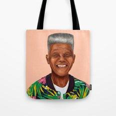 Hipstory - Nelson Mandela Tote Bag