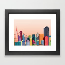 City San Francisco Framed Art Print